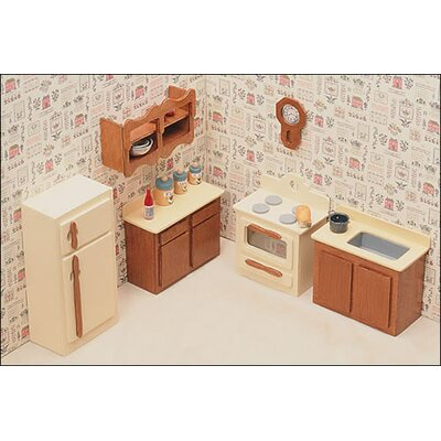 Greenleaf Dollhouses Kitchen Furniture Kit