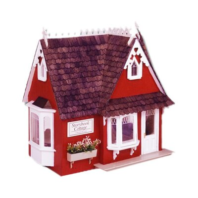 <strong>Greenleaf Dollhouses</strong> Storybook Cottage Dollhouse
