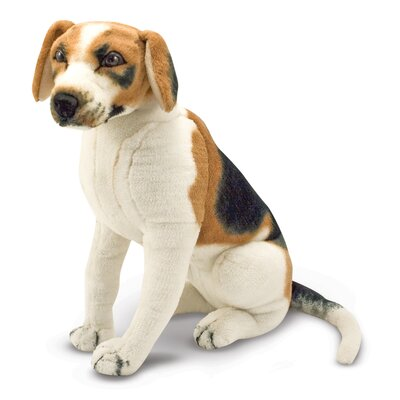 Melissa and Doug Beagle Plush Stuffed Animal