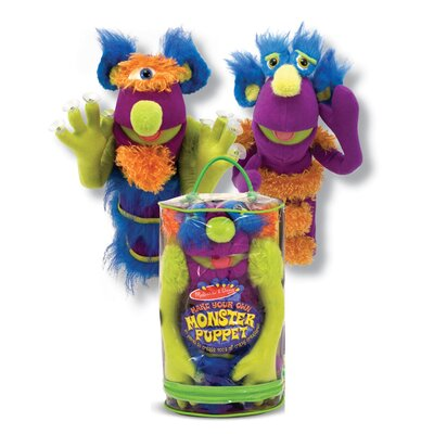 Melissa and Doug Make Your Own Monster Puppet