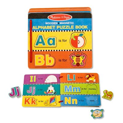 Melissa and Doug Alphabet Puzzle Book
