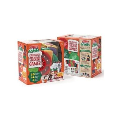 Melissa and Doug Sandwich Stacking Games