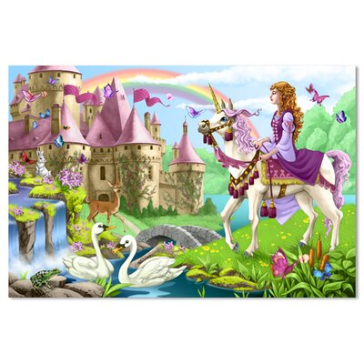 Melissa and Doug Fairy Tale Castle Floor Puzzle