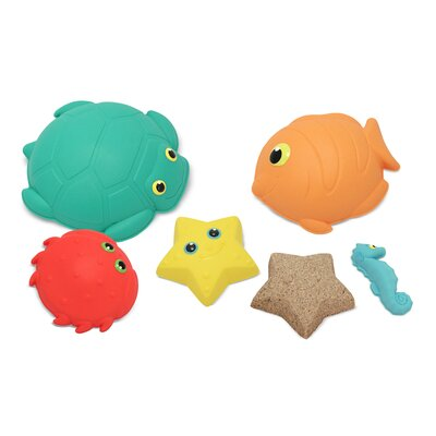 Melissa and Doug Seaside Sidekicks Sand Molding Set