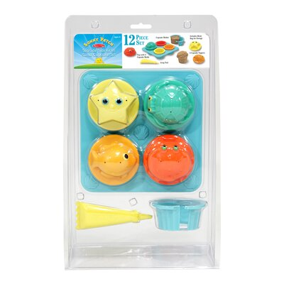 Melissa and Doug Seaside Sidekicks Sand Cupcake Set