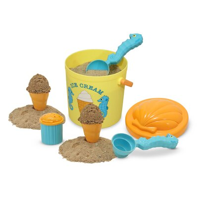 Melissa and Doug Speck Seahorse Sand Ice Cream Set