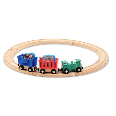 Melissa and Doug Zoo Animal Train Set
