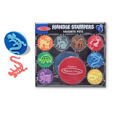 Melissa and Doug Favorite Pets Stampers