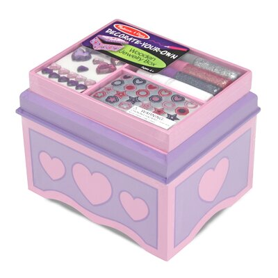 Melissa and Doug Jewelry Box DYO