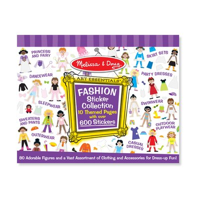 Melissa and Doug Sticker Collection Fashion