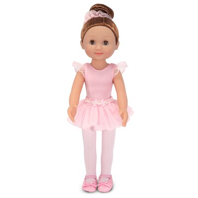 "Melissa and Doug Victoria 14"" Ballerina Doll"