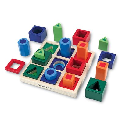 Melissa and Doug Shape Sequence Sorting Set