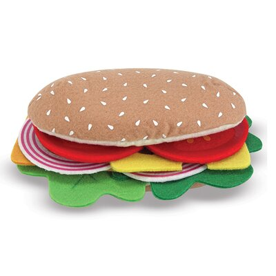 Melissa and Doug Felt Food Sandwich Set