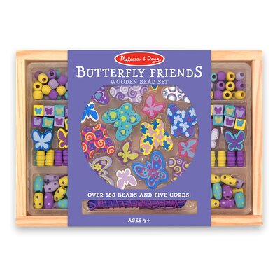 Melissa and Doug Butterfly Friends Bead Set