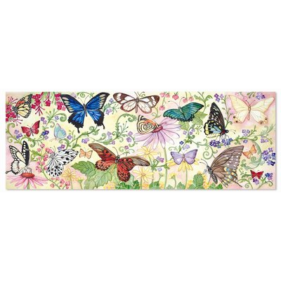 Melissa and Doug Butterfly Bliss 48 Piece Floor Puzzle Set