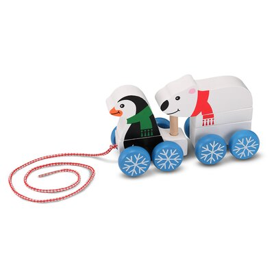 Melissa and Doug Penguin and Polar Bear Pull-Along