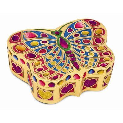 Melissa and Doug Butterfly Treasure Box Peel and Press Sticker by Number
