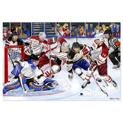 Melissa and Doug Slap Shot! 48 Piece Floor Puzzle Set