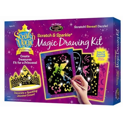 Melissa and Doug Deluxe Princess Scratch Art Set