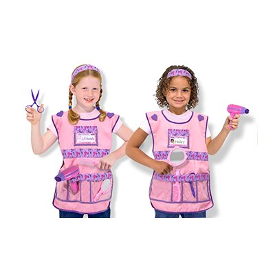 Melissa and Doug Beautician Role Play Costume Set