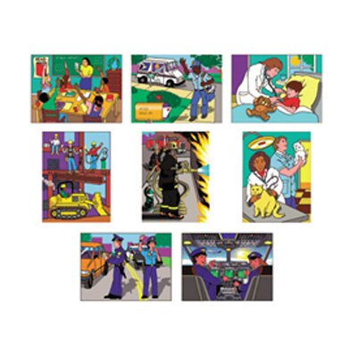 Melissa and Doug Puzzle Set Multi-ethnic Careers