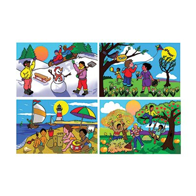 Melissa and Doug Seasons Floor Puzzle