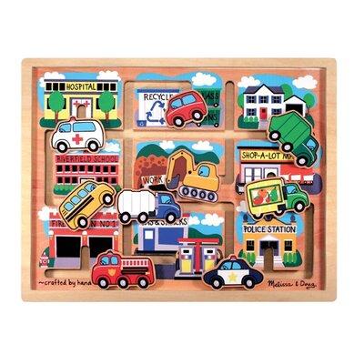 Melissa and Doug Vehicles Maze Puzzle