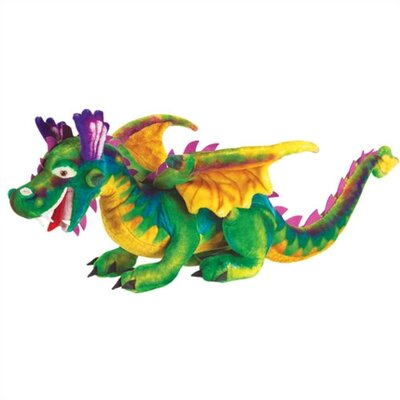 Melissa and Doug Large Dragon Plush Stuffed Animal