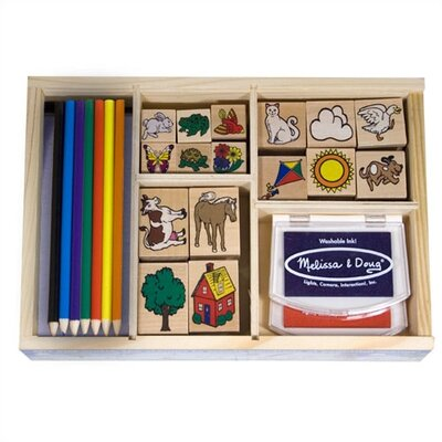 Melissa and Doug Deluxe Stamp Set