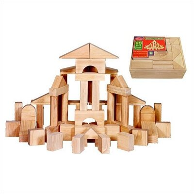 Melissa and Doug Standard Unit Building Blocks