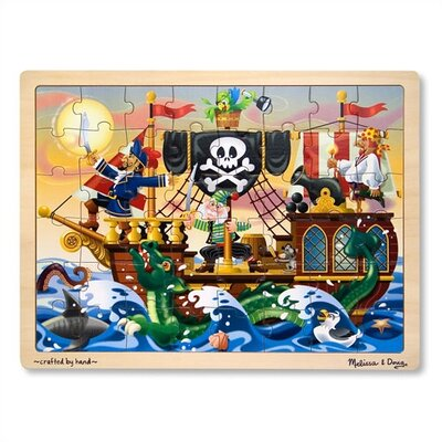 Pirate Adventure Wooden Jigsaw Puzzle