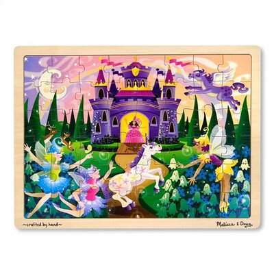 Melissa and Doug Fairy Fantasy Wooden Jigsaw Puzzle