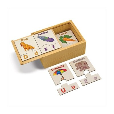Melissa and Doug Alphabet Puzzle Cards