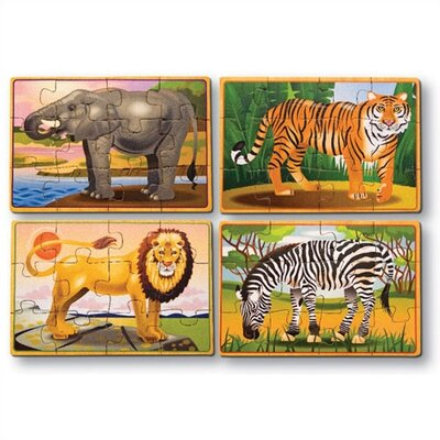 Zoo in a Box Wooden Jigsaw Puzzle