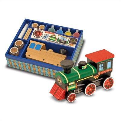 Melissa and Doug DYO Train Arts & Crafts Kit