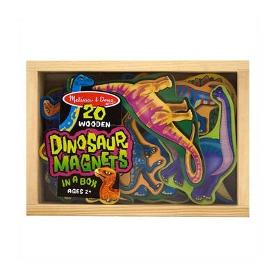 Melissa and Doug 20-Piece Magnetic Dinosaurs Set