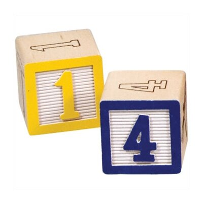Melissa and Doug Wooden ABC/123 Blocks