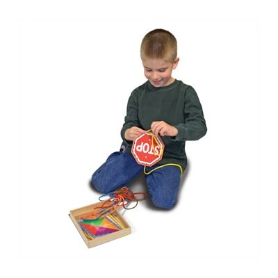 Melissa and Doug Lace & Trace Shapes