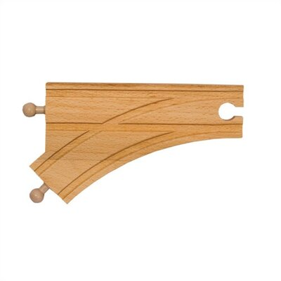"Melissa and Doug 6"" Curved Switch Track-Male"