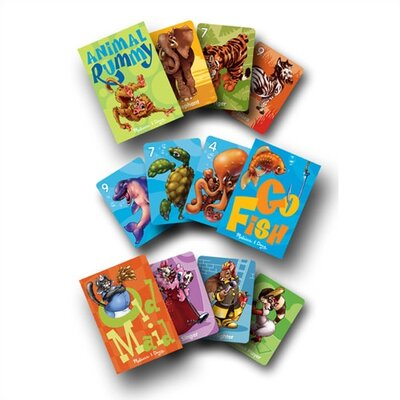 Melissa and Doug Animal Card Games