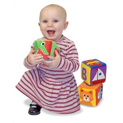 Melissa and Doug Plush ABC Blocks