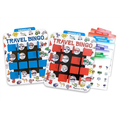Melissa and Doug Travel Bingo Game