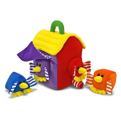 Melissa and Doug Bird House Shape Sorter