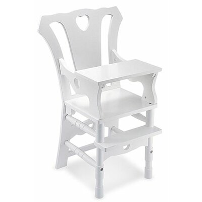 Melissa and Doug Baby Doll High Chair Furniture