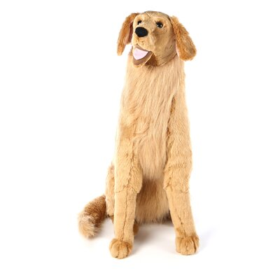 Melissa and Doug Large Golden Retriever Plush Stuffed Animal