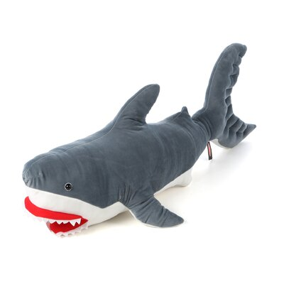 Melissa and Doug Shark Plush Stuffed Animal
