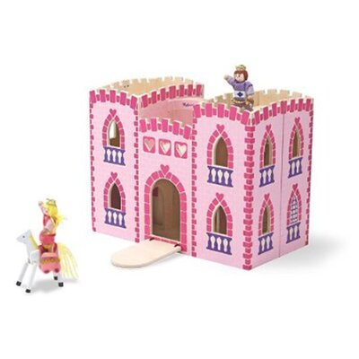 Melissa and Doug Fold and Go Princess Castle