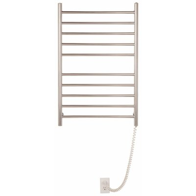 Pearl 10 Bar Wall Mount Electric Towel Warmer