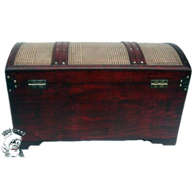 Buyers Choice Victorian Storage in Antiqued Plaid