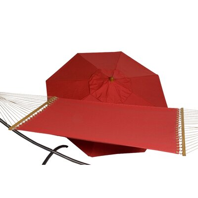 9' Sunbrella Umbrella and Hammock Combo
